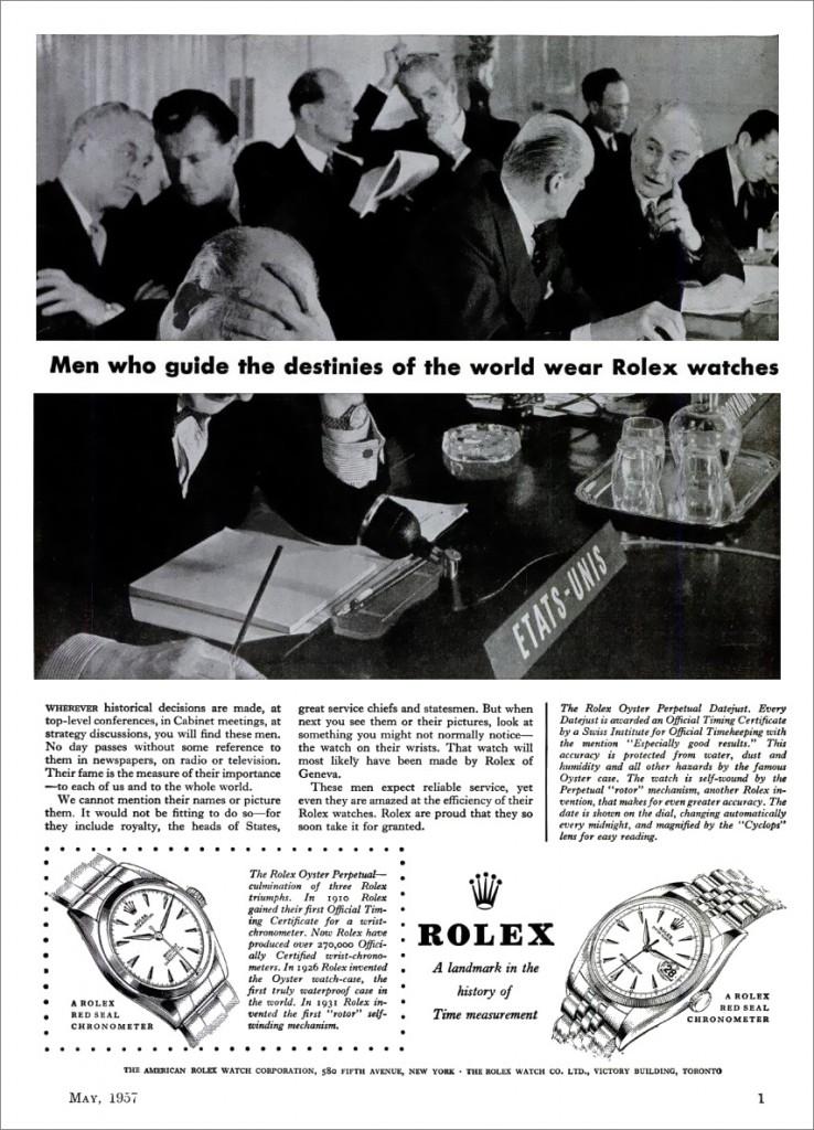 Rolex passar inte alla